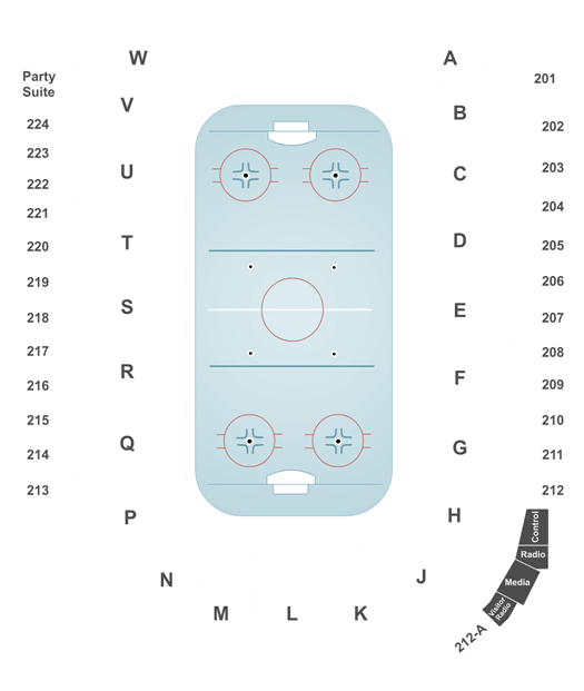 NCAA Mens Hockey Tournament West Regionals - All Sessions at Budweiser Events Center