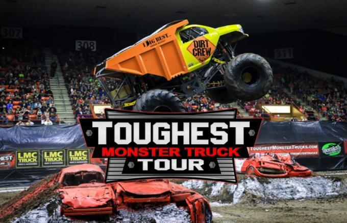 Toughest Monster Truck Tour at Budweiser Events Center