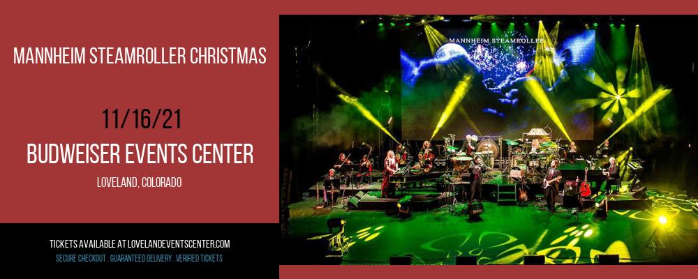 Mannheim Steamroller Christmas at Budweiser Events Center