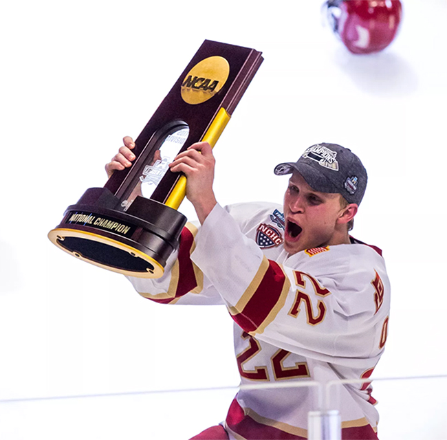 NCAA Mens Hockey Tournament West Regionals - Session 1 (Date: TBD) at Budweiser Events Center