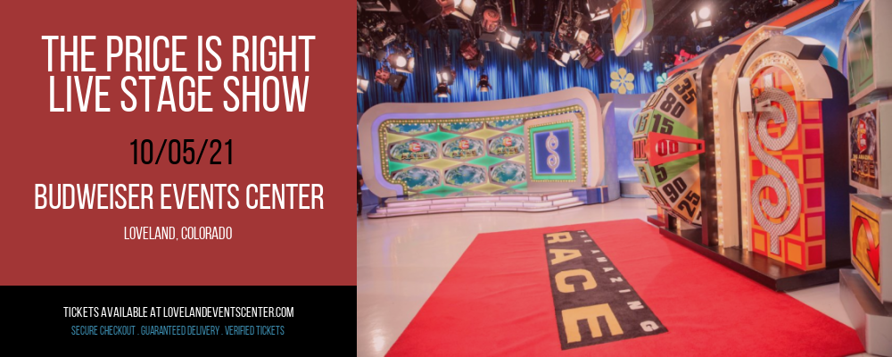 The Price Is Right - Live Stage Show at Budweiser Events Center